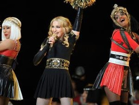 Madonna arrasa na Super Bowl